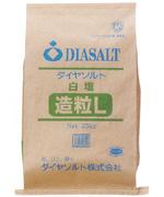 【業務用塩のお得なサイズ】白塩 造粒塩L 25kg