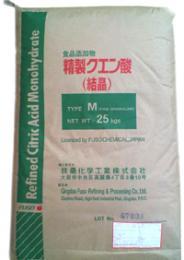 【食品用グレード】クエン酸(結晶) 25kg
