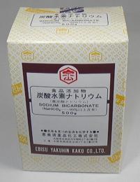 【食品用グレード】重曹(炭酸水素ナトリウム) 500g